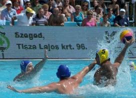 Elődöntő I.: A-HÍD Szeged VE – Szolnoki Dózsa-Közgép