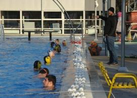 Nyitott medencében edzettünk, készülünk az FTC ellen