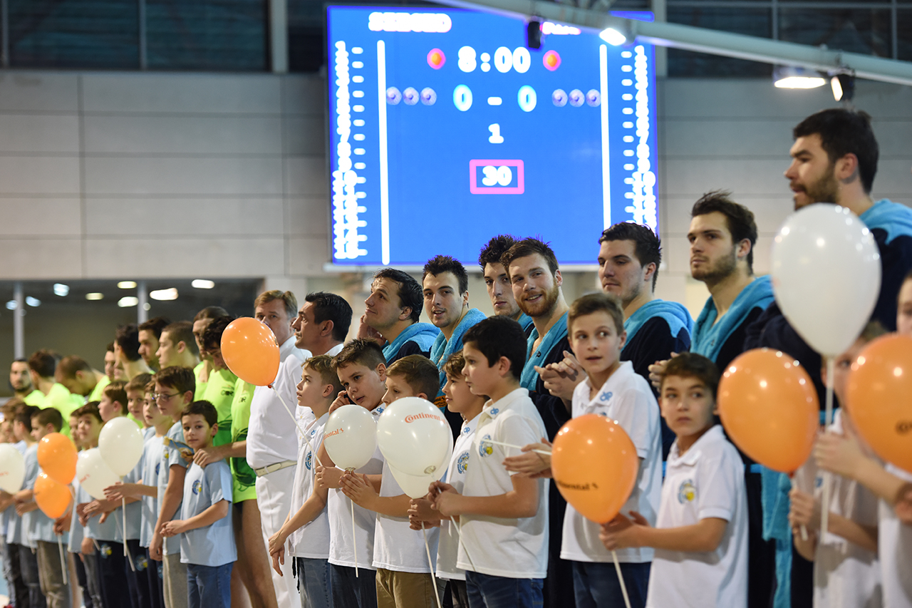 ContiTech Szeged Diapolo-Brescia Európa Kupa-mérkőzés