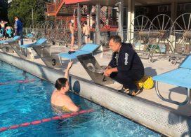 Rávezető héttel, úszással indult a programunk